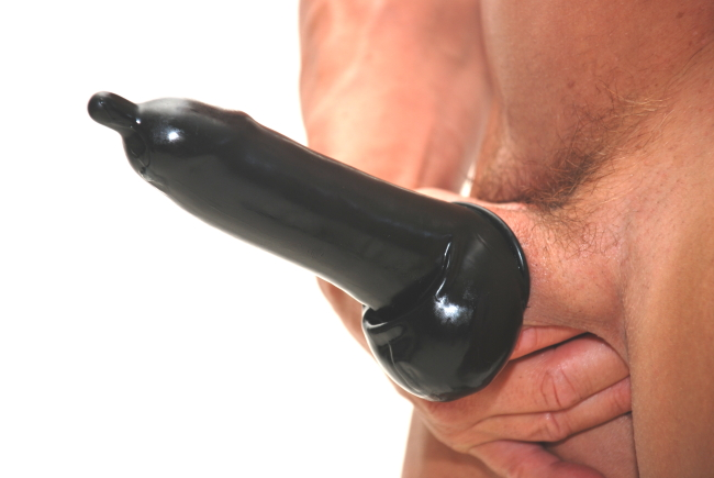in latex gefesselt penis aufsatz