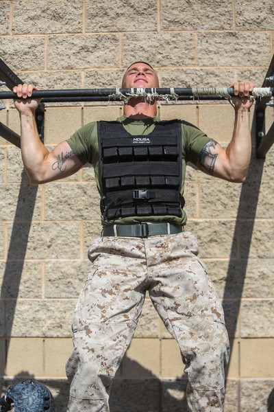 I MHG Marine earns meritorious blood stripes