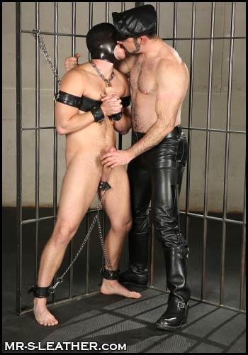 from Kieran gay handcuffs and restraints malesub bdsm