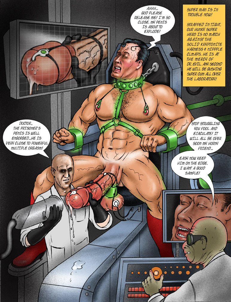 Comic gay slave